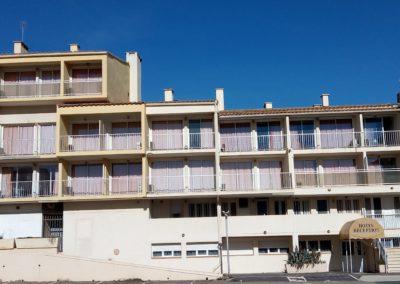 Transformation d'un hôtel – Résidence Baïa – Aquipierre Promotion