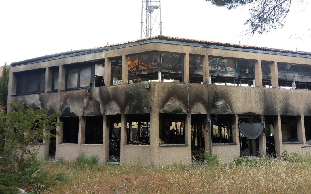 Diagnostic d'un bâtiment après incendie – Assistance à la déconstruction