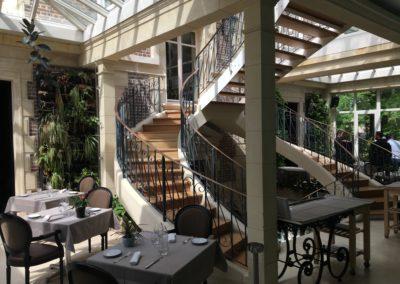 Réaménagement d'un restaurant et d'un espace bien-être