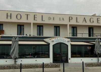 Restructuration et mise en conformité incendie de l'Hôtel de la plage